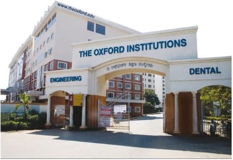 Oxford College Bangalore Mba by Fee Structure Of The Oxford College Of Engineering