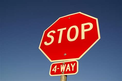 Intersections with non-working lights should be treated as ... Y Intersection Sign