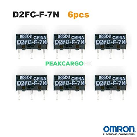 Micro Switch Mouse D2fc F 7n Saklar Tombol Klik Omron Ar21 qty 6 omron d2fc f 7n micro switch microswitch switches for import it all