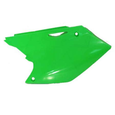 Kawasaki 250 Ltd Green acerbis kawasaki side panels kx250f 04 05 rmz250 04