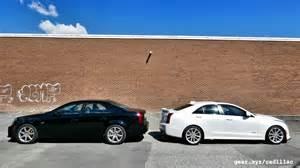 Cadillac Ats And Cts 2016 Cadillac Ats V Vs 2004 Cadillac Cts V Showdown
