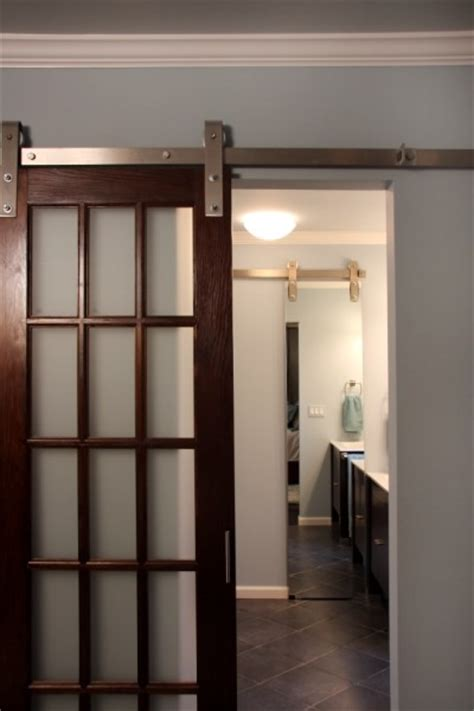 Sliding Glass Barn Doors There Are Various Sliding Doors That Are External To The Wall Not Pocket Doors And There Are
