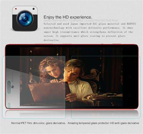 Delcell Tempered Glass Lenovo Lg Magna nillkin amazing h tempered glass screen protector for lenovo vibe max with back tvc