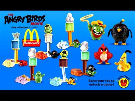 Kaos World Of Lego 10 2016 mcdonald s the angry birds complete set 10