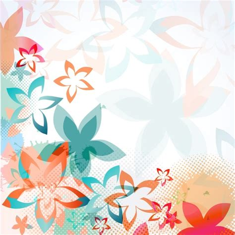 floral pattern vector commercial use floral background pattern free vector download 55 937