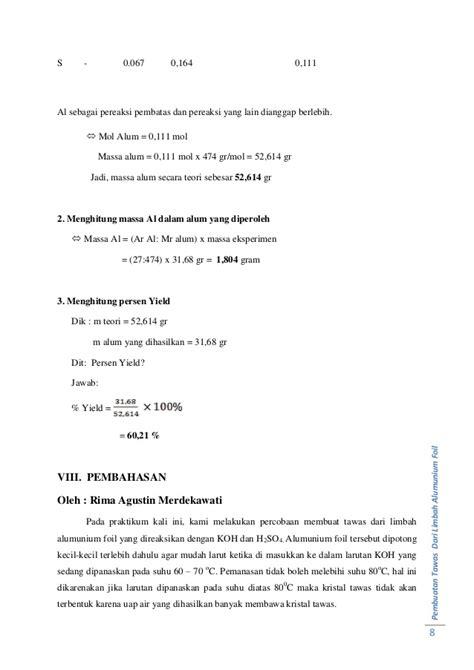 laporan praktikum biologi membuat tape laporan praktikum pembuatan tawas