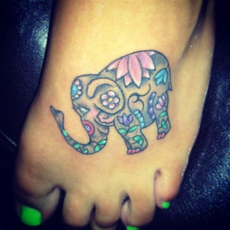 elephant infinity tattoo my elephant tattoo love love love it tatt it up
