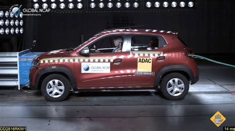 new renault kwid global ncap safety rating revised