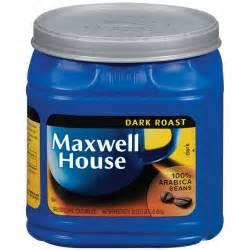 maxwell house roast ground coffee maxwell house