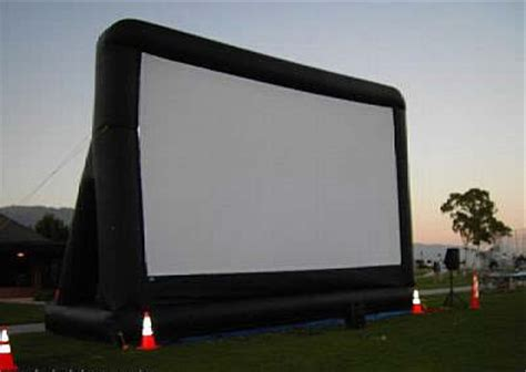 inflatable backyard movie screen outdoor inflatable movie screens inflatable home theater