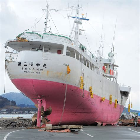 boat show japan japan earthquake 30 pictures of boats and ships swept