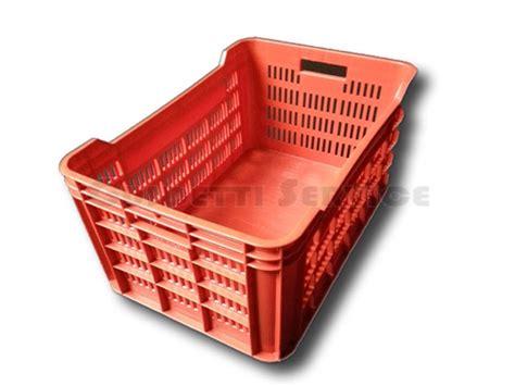 cassette in plastica per ortofrutta cassetta plastica rettangolare ortofrutta rossa