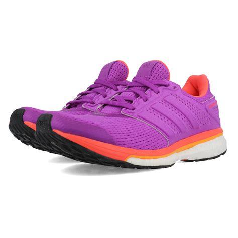 adidas supernova glide  womens purple sneakers running