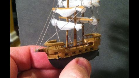 long galleon time lapse created   balsa