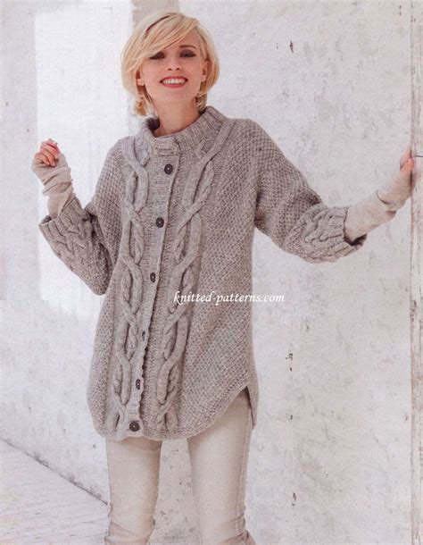 free knitting patterns for s cardigans 1000 images about outerwear cardi s jackets etc on