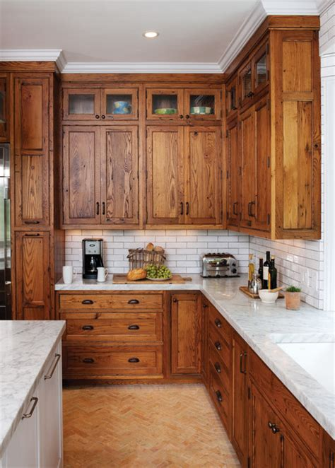 what color subway tile with oak cabinets image from http www mykitcheninterior com wp content