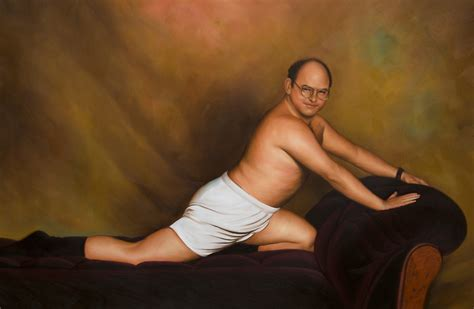 seinfeld george posing on the couch quot seinfeld george costanza timeless art of seduction