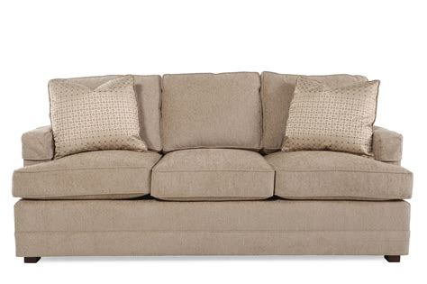 textured couch herringbone textured 83 quot sofa in sand mathis brothers
