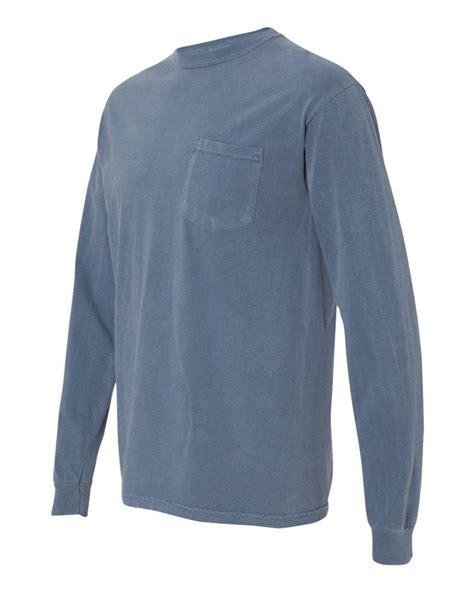 Comfort Color Sleeve T Shirts by Comfort Colors Sleeve Pocket Mens T Shirt 4410 Ebay