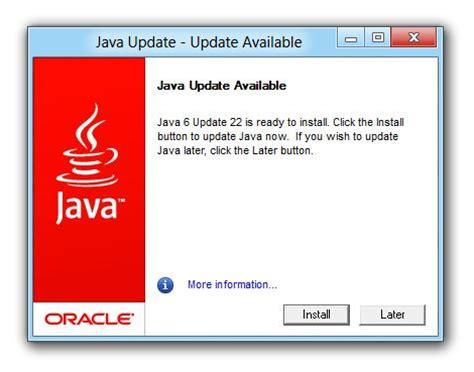 Java Auto Updater by Java Auto Update User Inexperience Oleg Mihailik In