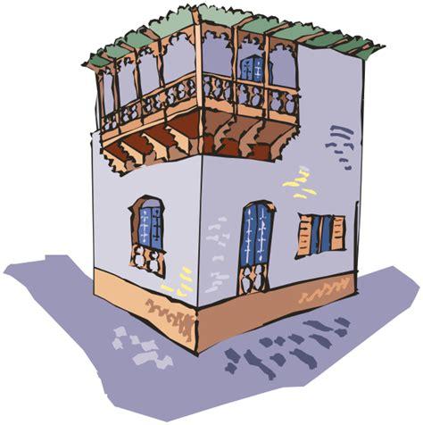 House With Porch building upper corner patio buildings porch building