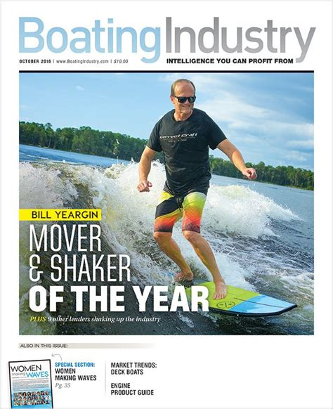 boating magazine boat of the year 2016 october 2016 boating industry