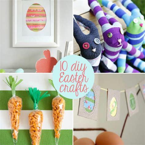 10 diy easter crafts