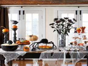 Halloween Party Homemade Decorations Centerpiece For Dining Room Table Diy Halloween Table