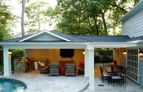 after garage patio cover build outdoor ideas in 2019