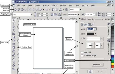 fungsi layout pada coreldraw miiftah upi tehnik dasar corel draw