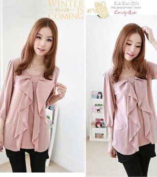 Atasan Pink Wanita Soft Silk Shirt Murah Import Lookbook blouse wanita import cantik pink model terbaru jual murah import kerja