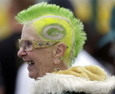 old lady mohawk cheesehead debo lets loose