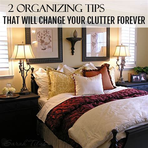 bedroom clutter solutions 2 organizing tips that will change your clutter forever