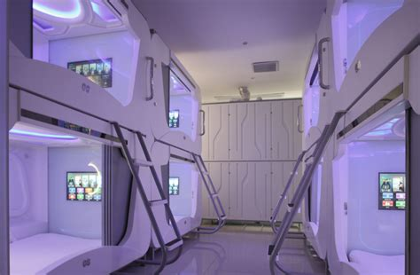 bed airport japan capsule hotel beds sleep pod for resorts hotel