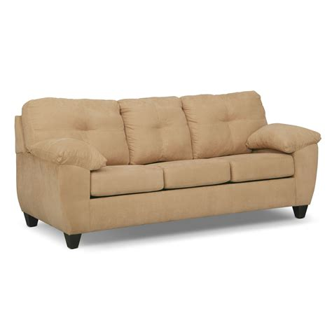 Sleeper Sofa With Memory Foam Ricardo Memory Foam Sleeper Sofa Camel American Signature Furniture