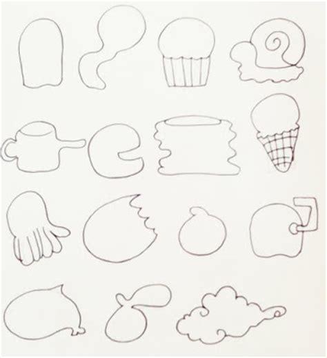 karakter doodle contoh gambar karakter membuat doodle