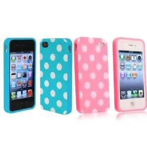 Set Polkadot 2in1 get two iphone cases for less than 4 shipped