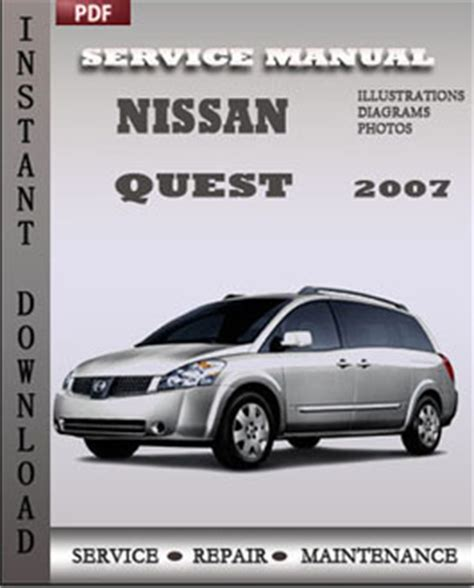 repair manual 2009 nissan quest free downloads by tradebit com de es it nissan quest v42 nissan quest 2007 workshop factory service repair shop manual pdf download online