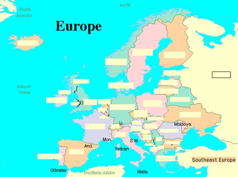 map test map of europe capitals quiz travelquaz