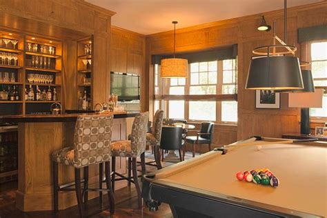 pub room rec room design ideas for some fancy time at home