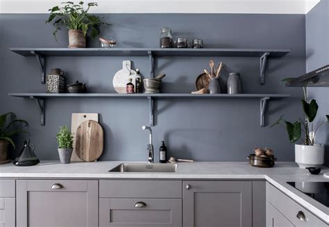 kitchen wall blue kitchen wall coco lapine designcoco lapine design