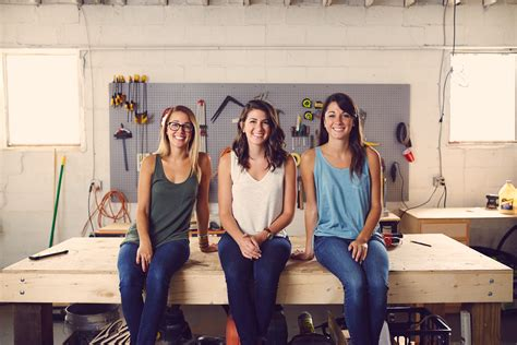 woodworking shop owned   sisters  celebrate big