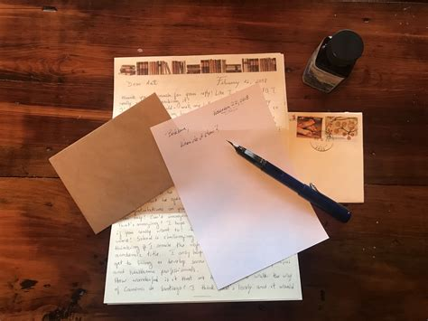 a the letter handwritten letters the writing cooperative