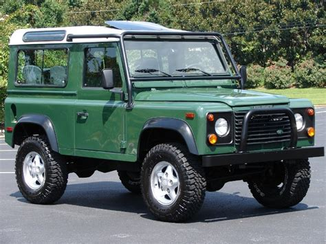 1997 land rover defender 90 wlrs pre owned dealer birmingham alabama