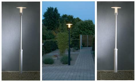 outdoor post lights contemporary stylish modern l post outdoor lighting landscape