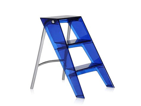 fold up step ladder buy the kartell upper folding step ladders at nest co uk