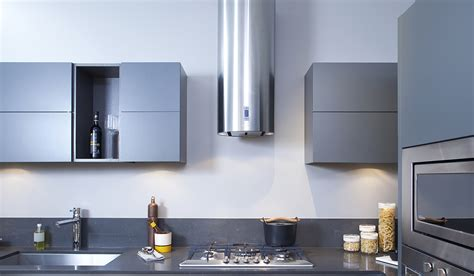 Stainless Steel Kitchens Cabinets cylindra faber range hoods us and canada