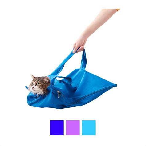 In The Bag cat in the bag e z zip cat carrier cobalt large chewy