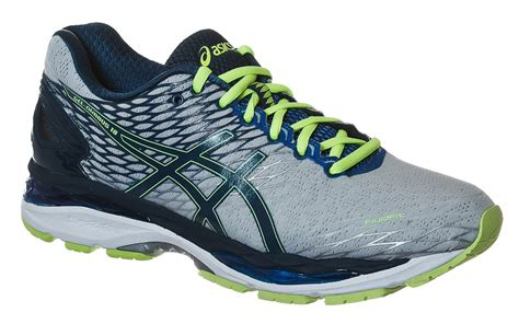 start fitness running shoes asics gel nimbus 18 running shoes blue start fitness