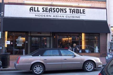 all seasons table malden ma boston s restaurants